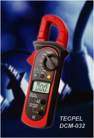 1999 count AC Current clamp meter
