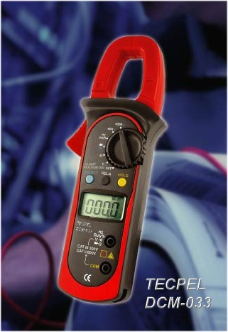 Digital clamp meter  ac dc current dcm-033