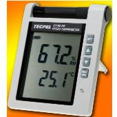 Digital temperature humidity meter hygro thermometer with audio alram relative