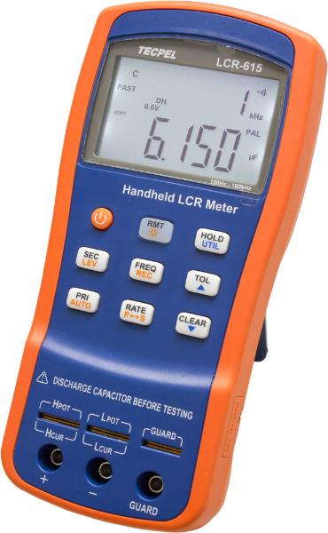 100KHz lcr meter handheld  LCR-615 with high accuracy of 0.1%