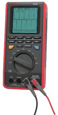 8MHz handheld multimeter oscilloscope