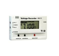 Voltage Recorder 4~20mA data logging data logger TandD VR-71